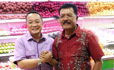 H Almaisyar Datuak Bangso Dirajo Nan Kuniang dan H Syamsul Bahri