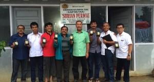 Kopi Surian bersama akademisi Univeritas Andalas Padang