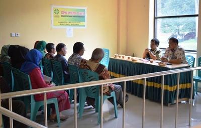 Wakil Bupati Limapuluh Kota pimpim rapat terbatas dengan Dishutpertamben terkait persiapan pengalihan kewenangan P3D dari Pemkab ke Pemprov.