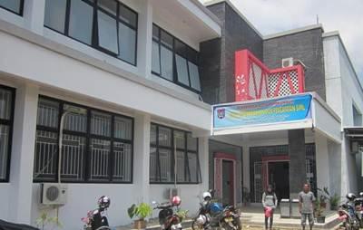 Kantor Disdukcapil Kota Payakumbuh yang teletak di kelurahah Kubu Gadang, Payakumbuh Utara.