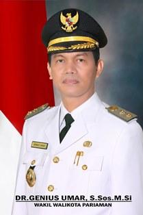 Wakil Walikota Pariaman Genius Umar, S.sos.M.Si