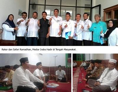 Ir Mediar Indra MSi hadir di tengah masyarakat.