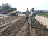Ali Mukhni Tinjau Lokasi Pembangunan Jalan Fly-Over baru-baru ini