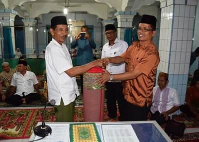 Kunjungan Safari Ramadhan Pemkab Limapuluh Kota di Masjid Silaturrahmi di Sawah Padang, lusa (26/6).