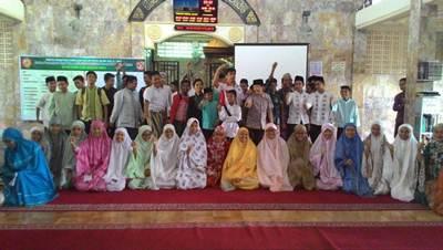BNN Sumbar kembali melakukan penyuluhan di mesjid-mesjid kota Padang pada Minggu (19/6).