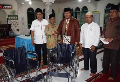 Safari Ramadhan yang dilakukan Bupati Limapuluh Kota Irfendi Arbi dimaksudkan untuk mendengarkan aspirasi masyarakat.