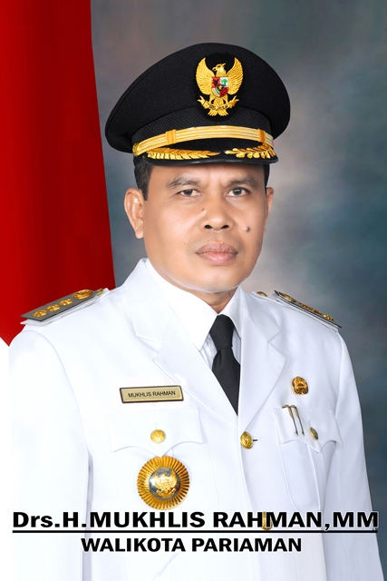 Walikota Pariaman Mukhlis Rahman