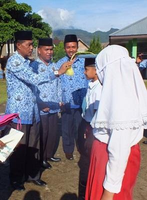 Gusman Piliang Tabuh Matsama di Madrasah-Madrasah Limapuluh Kota
