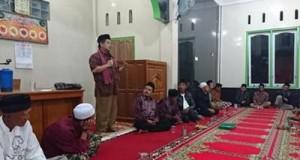 Kunjungan Ramadhan Wabup Ferizal ke Masjid Nurul Falah di Jorong Taratak dan Masjid Baitul Ikhsan Jorong Sungailansek, Nagari Tungkar, Kecamatan Situjuah Limo Nagari, Selasa (28/6) malam.