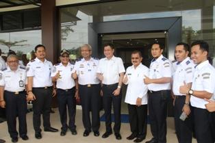 Kunjungan Menteri Perhub RI di Padangpariaman
