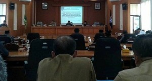 DPRD Payakumbuh-Paripurna Penyampaian Pandangan Umum Fraksi-Fraksi terhadap Nota Penjelasan Walikota atas Ranperda Organisasi Perangkat Daerah Kota Payakumbuh