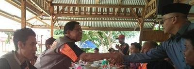 Presskon KPU dengan para Wartawan yang bertugas di Payakumbuh yang bernaung di Balai Wartawan