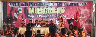 Sidang Komisi Muscab Pemuda Pancasila Payakumbuh