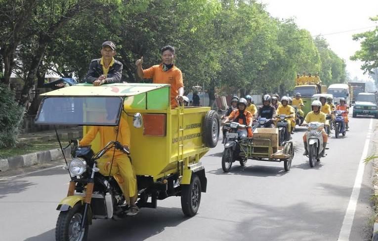 Raih Adipura,  Pasukan Kuning Terima Bonus dari Walikota