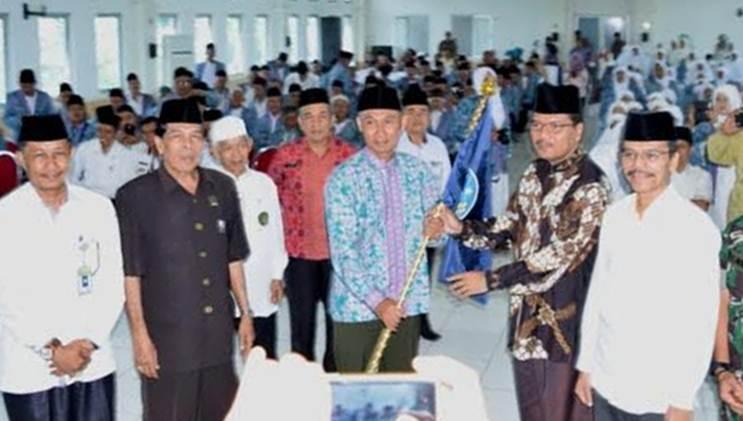 189 Jamah Calon Haji Dilepas Pemkab, Upayakan Peningkatan Fasilitas