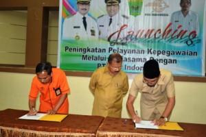 PT. Pos Indonesia Menandatangani MoU dengan Pemkab Padangpariaman