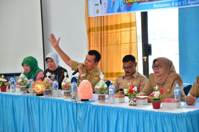 wako beri sambutan workshop