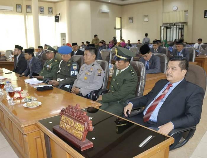 Sidang Paripurna Istimewa digelar DPRD Kota Payakumbuh, Selasa (16/8) pagi.
