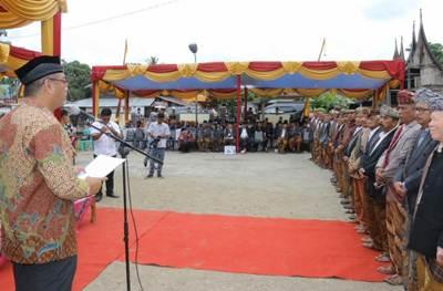 Walikota Riza Falepi Kukuhkan Pengurus KAN Payobasung