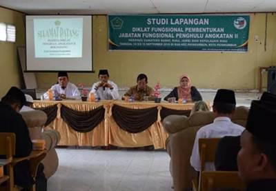 Peserta Diklat Jabatan Penghulu Datangi KUA Kecamatan Payakumbuh