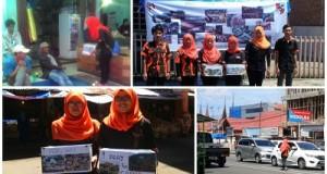 Pemuda Pancasila Payakumbuh Kumpulkan Sumbangan Musibah Garut