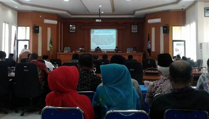 Dewan Perwakilan Daerah (DPRD) Kota Payakumbuh kembali adakan Rapat Paripurna, Jumat (2/9).