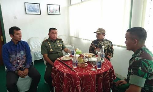 Ferizal Minta Dukungan TNI, Percepat Pembangunan Daerah Basis PDRI