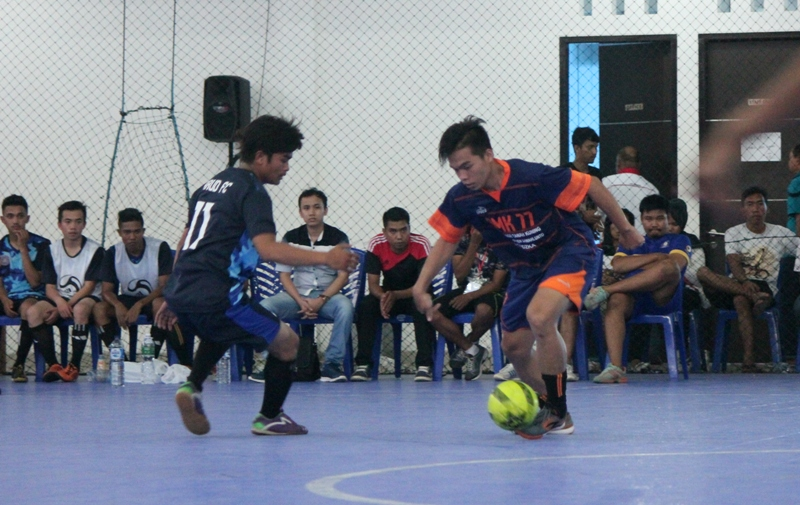 Pertandingan di Grup B antara Bali Cronus vs Kota Sawahlunto, yang dimanangkan Sawahlunto 3-0. Tapi itu tak membantu Sawahlunto lolos ke 8 besar.