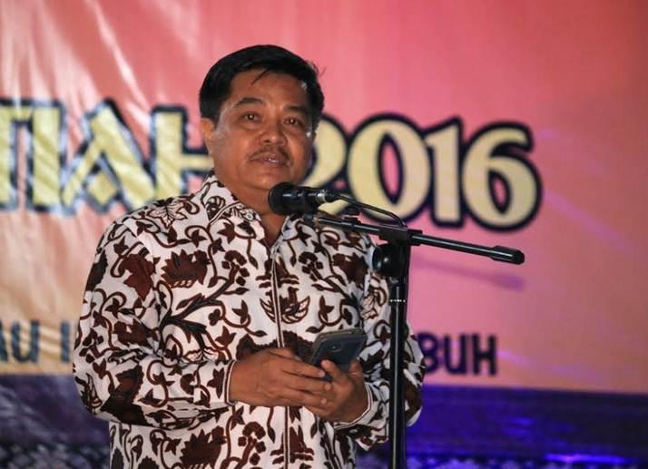 Setdako Benni Warlis dalam sambutan mewakili Walikota Payakumbuh. Foto: JE
