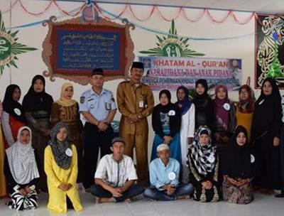 H. Zakaria Apresiasi Khatam Al-Quran Warga Binaan LPKA II Tanjung Pati