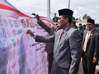 """Peringatan Hari Sumpah Pemuda ke 88 tahun 2016 bertema """"Pemuda Indonesia Menatap Dunia"""""""