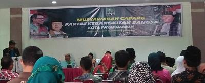 Faisal Bukhari Kembali Jadi Ketua Tanfiz PKB Payakumbuh