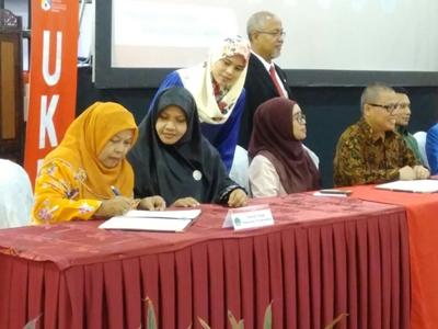 Bersama 35 Institusi Pendidikan Tinggi Indonesia, STT Payakumbuh Tandatangani MoU bersama UKM