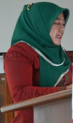 Juru Bicara Fraksi Demokrat DPRD Limapuluh Kota Hj, Aida