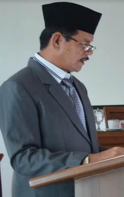 Juru Bicara Fraksi PDI-P DPRD Limapuluh Kota Ermizal Amril B