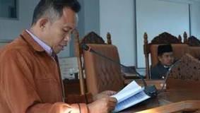 Juru Bicara Fraksi PKS-PBB DPRD Limapuluh Kota Hardedi