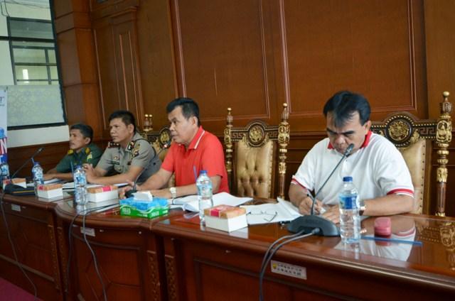 Wali Kota Pariaman Pimpin Rakor persiapan kontingen kota pariaman ikuti porprov ke 14 sumbar 2