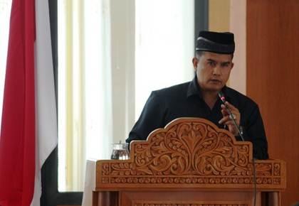 Ketua Badan Pembentukan Peraturan Daerah DPRD Payakumbuh, Hendriwanto. S.Sos.