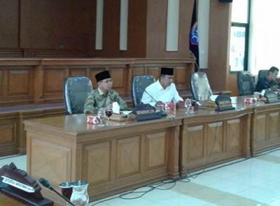 Bahas Perspektif Pembangunan ke Depan, DPRD Adakan Raker dengan Pemko Payakumbuh