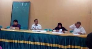 Gambar susanan rapat di Kntor Dinas Kehutanan dan Pertambangan Kabupaten Limapuluh Kota
