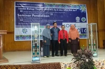 LOBIS IAIN Batusangkar 2016, MAN 2 Sabet Juara Umum