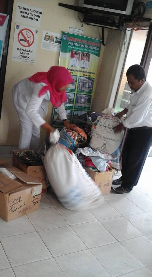 Bantuan dari Kelurahan Talang