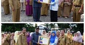 Bupati Irfendi Arbi terima Penghargaan BPJS