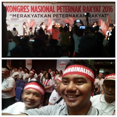 Kongres Nasional Peternakan Rakyat, Sumbar diwakili Toto Setiawan dan Dodi Syahputra