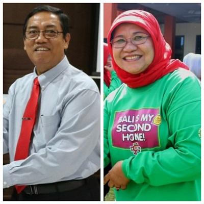 Plt Walikota Payakumbuh Priadi Syukur dan Direktur RSUD Adnaan WD dr Merry Yuliesday MARS