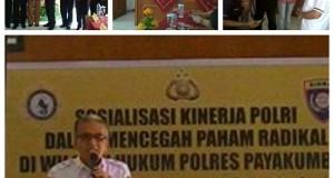 Polres Payakumbuh Sosialisasi Cegah Radikalisme, H Awaluddin Cuncun Narasumber