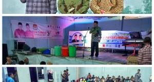 Warga Payobasuang Dukung Kompak H Suwandel Muchtar-H Fitrial Bachri