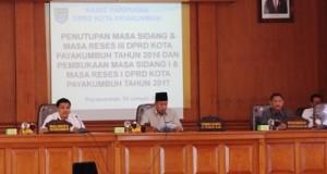 Sidang Paripurna DPRD Payakumbuh