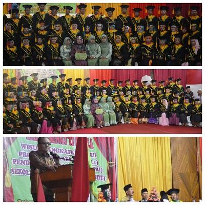 STIT Payakumbuh Wisuda 68 Orang Sarjana S1, Persiapkan Diri Tingkatkan Akreditasi