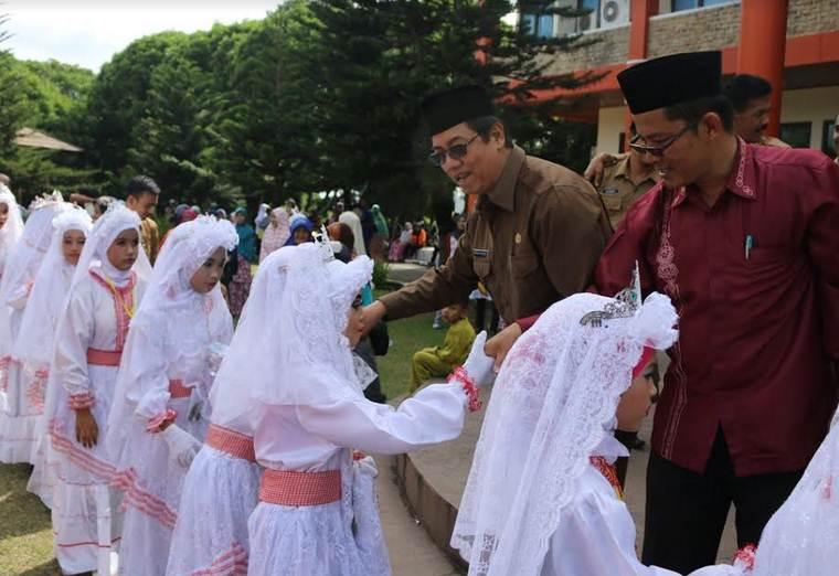 Peserta Khatam Masjid Ubudiyah Datangi Balaikota